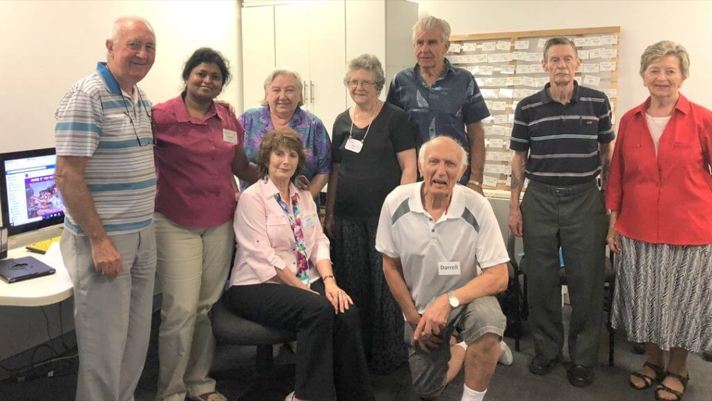 Some of the Parramatta Computer Pals Members